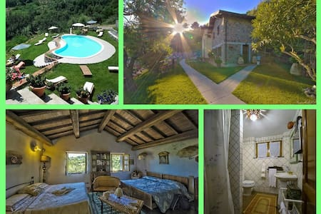 Spacious Room in Farmhouse w Pool near 5 Terre - Follo Alto - Bed & Breakfast