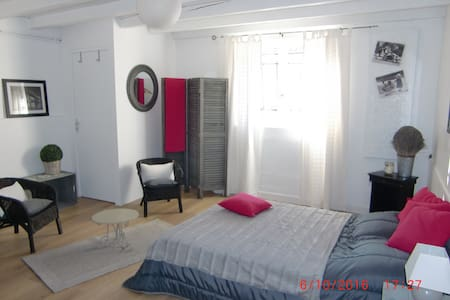 Studio bords de Vienne , 8 mn centre ville - Huis