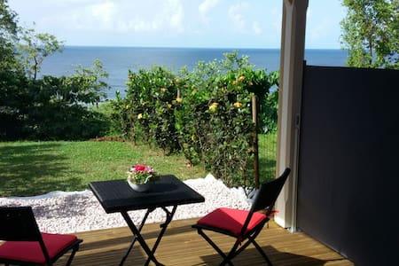 Paradis Tropical avec belle vue mer - Apartemen