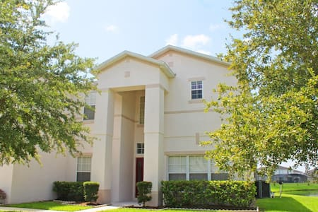 Executive 7 bed lakeside house with pool & spa - Kissimmee - Maison