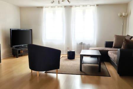 Troyes City Center - Gorgeous Duplex - 65sqm - Apartemen