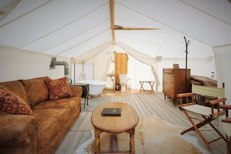 Glacier Under Canvas-Suite - Tent