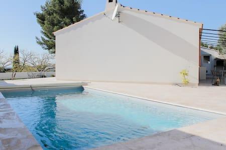 Calme et piscine, plage à 10min! - Martigues - Villa