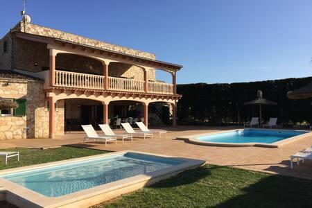 Finca Can Grau enjoy Mallorca's nature lifestyle - Sencelles - Villa