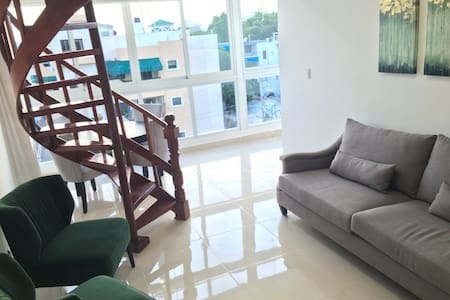 3 Bedroom Penthouse in Santo Domingo for 2-6 ppl - Appartement