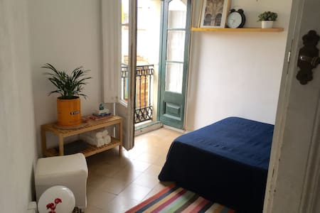 beautiful double room in hip Borne. - Barcelona - Wohnung