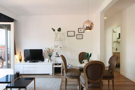 Design flat in Modernist beach town - Canet de Mar - Apartment