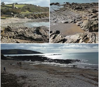 Self contained annex nr stunning beach & Plymouth. - Wembury - Apartment