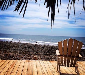 El Sunzal Beachfront Dorm - Sala sypialna