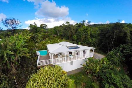 Top 20 des location villa vacances deshaies airbnb for Villa deshaies avec piscine