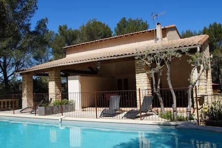 Cottage Provence-5-pers pool tennis - Grans