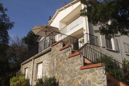 Spacious villa with mountain views - Maureillas-Las-Illas - Huis