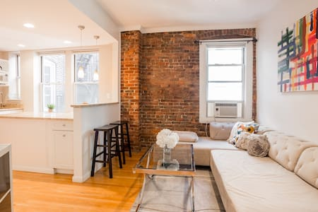 Cozy and Quiet North End Duplex 1 Bedroom - Boston - Apartment
