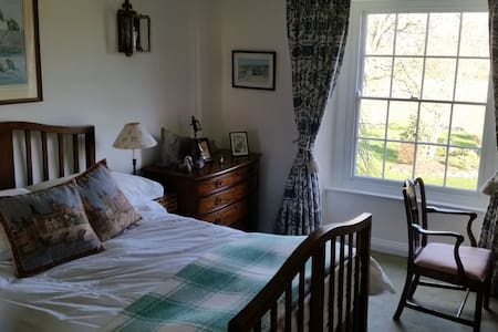 East Guest Room, Etsome House - Somerton - House