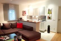 Modernes Apartment mit Flair