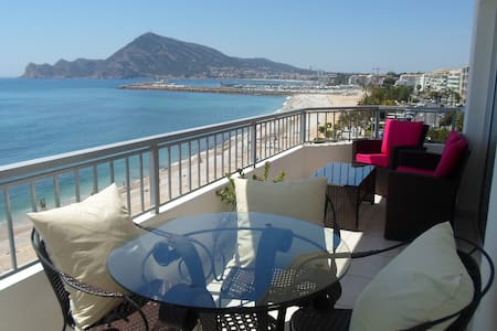 Chic beach-front apartment in Altea - Altea