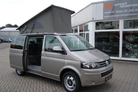 Fahrende Unterkunft - Wohnwagen/Wohnmobil