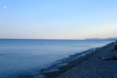 Nur 1 km zum Meer - Wohnung