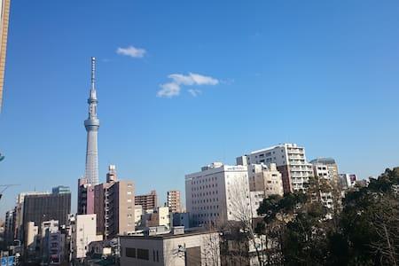 Great view of Tokyo sky-tree!