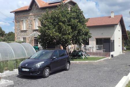 GITE LES GALETS CHANTANTS - Saint-Hilaire-du-Rosier - Rumah