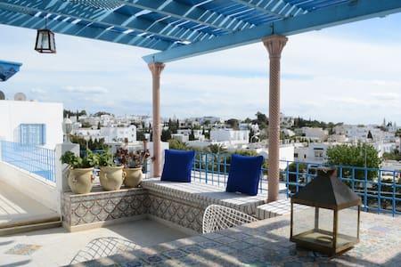 Terrace View Loft @Sidi BouSaïd - Podkroví