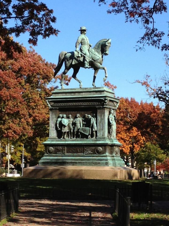 Logan Circle Historical Monument