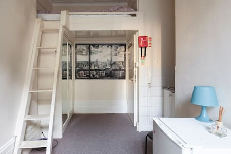 Room 3. Private double room, Soho. - London - House
