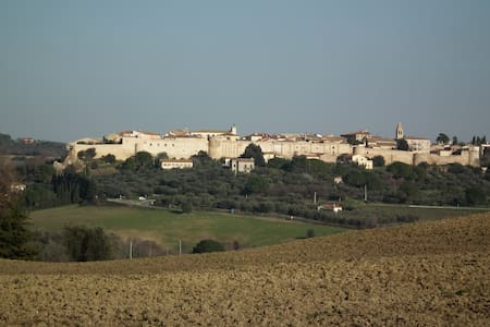 Tuscan get-away, panoramic views - Magliano In Toscana