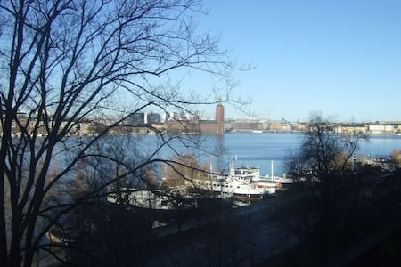 Södermalm with beautiful sea view - Stockholm - Apartment