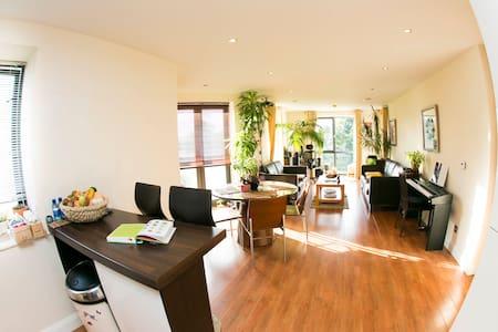 Bright and spacious apartment with mountain view - Apartmen