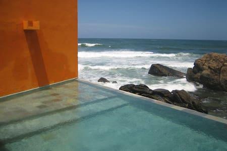 panoramic view of the Indian Ocean. - Unawatuna - Huis