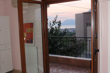 Studio in Patras, great view to sea - Patrai - Other