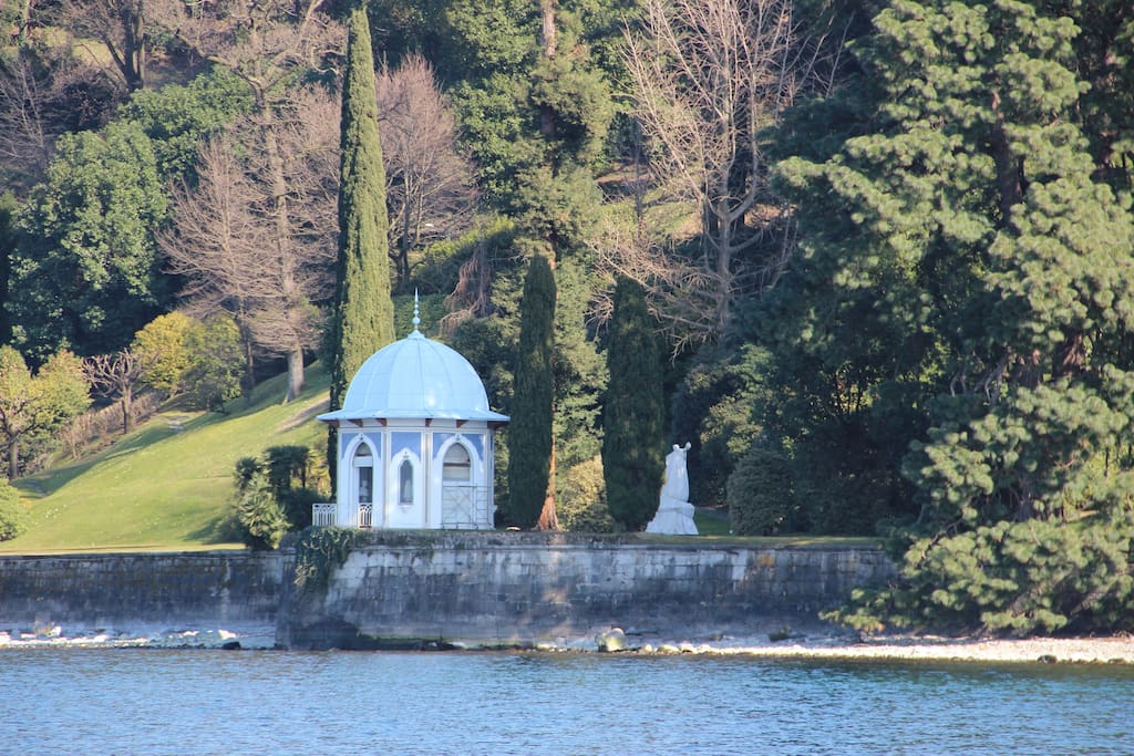 Villa Melzi Garden, based at only five minutes walk from the apartment