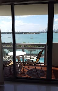 Nice 1 BR over the pool, private WIFI - Miami Beach - Apartment