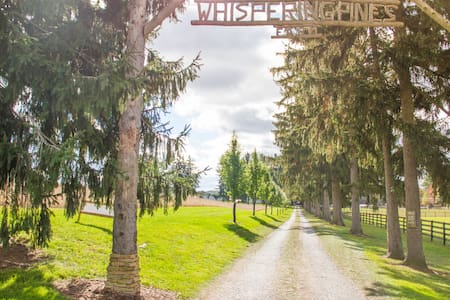 Glamping at Whispering Pines Farm - Sátor