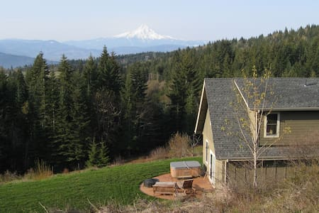 View of Mt. Hood, Private, Pet OK - White Salmon - Casa