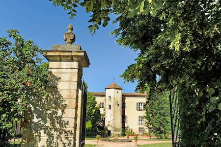 280sqm accomodation in a château - Thiers