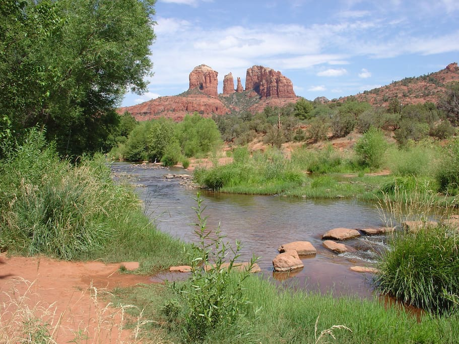 Walk out your door to this magical healing oasis! Most photographed location in sedona!