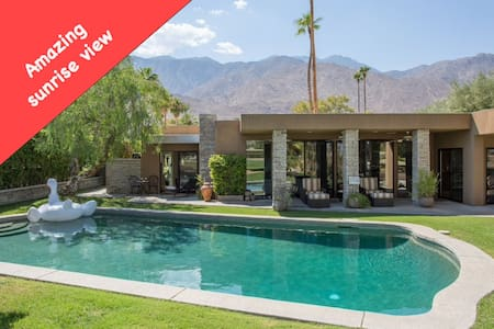 A LUXURY HOME (SUNRISE + POOL + PRIVACY) - Palm Springs - Ház