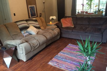 Comfy Couch in The Heart of Orlando - House