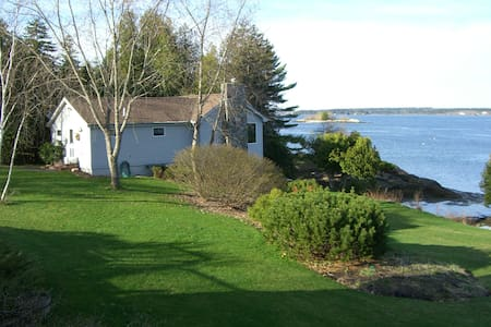 Cottage on waterfront in Maine - Ház