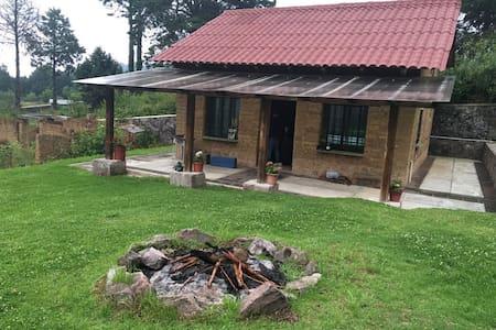 Cabaña El Eden en Mineral del Chico - Cabin