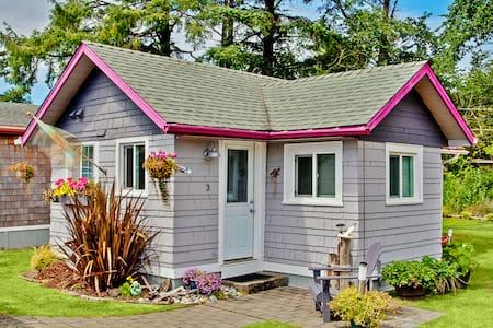 Ocean Spray Cottage #3 - Grayland - Cabane