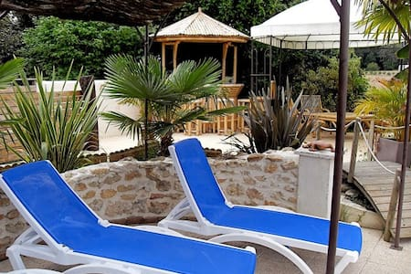 Gite 6 per piscine avec abri retrac - Maison