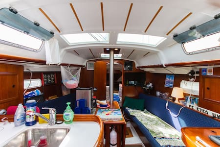 Ever Sleep aboard a Sailboat ? - Newport Beach - Boat