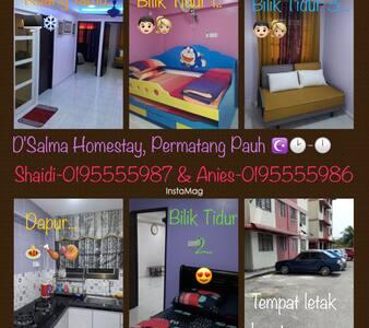 D' Salma Homestay - Permatang Pauh - Appartement