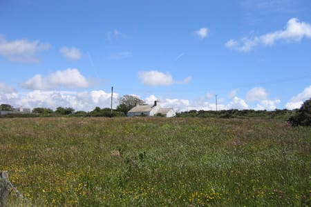 Cosy cottage for 2 seaviews & fire - St Davids - Casa