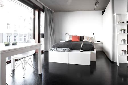 Design loft with rooftop terrace