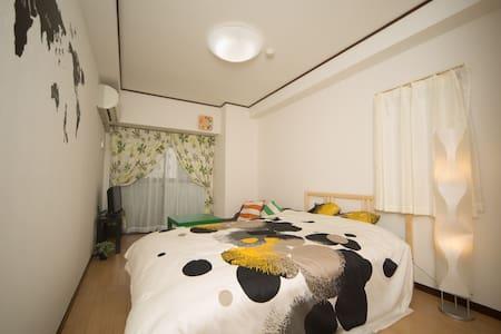 OSAKA☆shinsaibashi dotonbori CONVENIENT APT Max4pe - Appartement