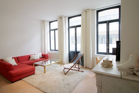 Beautiful Apartment - Flagey - Ixelles - Lejlighed